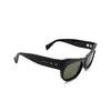 Gucci® Irregular Sunglasses: GG0870S color Black 001 - product thumbnail 2/3.