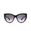Gucci® Cat-eye Sunglasses: GG0877S color Black 001 - product thumbnail 1/3.