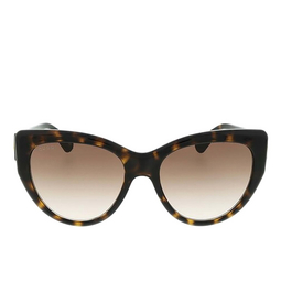 Gucci® Cat-eye Sunglasses: GG0877S color Havana 002.