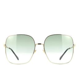 Gucci® Sunglasses: GG0879S color Gold 003.