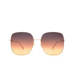 Gucci® Sunglasses: GG0879S color Gold 004.