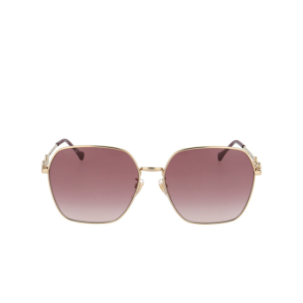 Gucci® Square Sunglasses: GG0882SA color Gold 005.
