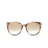 Gucci® Cat-eye Sunglasses: GG0885SA color Havana 004 - product thumbnail 1/3.