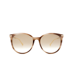Gucci® Cat-eye Sunglasses: GG0885SA color Havana 004.
