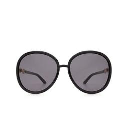 Gucci® Round Sunglasses: GG0889S color Black 001.