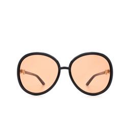 Gucci® Round Sunglasses: GG0889S color Black 003.