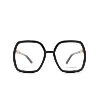 Gucci® Square Eyeglasses: GG0890O color Black 001.