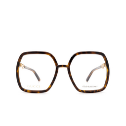Gucci® Eyeglasses: GG0890O color Havana 002.