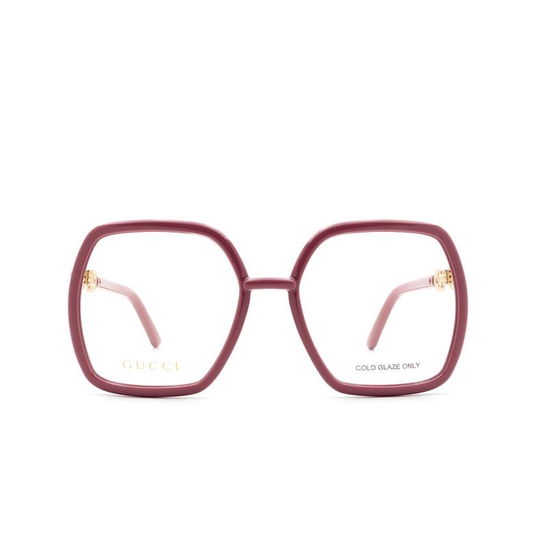 Gucci® Square Eyeglasses: GG0890O color Pink 003.