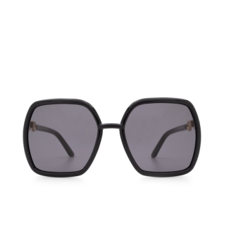 Gucci® Square Sunglasses: GG0890S color Black 001.