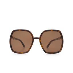 Gucci® Sunglasses: GG0890S color Havana 002.