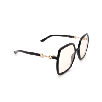 Gucci® Square Sunglasses: GG0890S color Black 005.