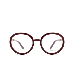 Gucci® Eyeglasses: GG0891O color Burgundy 003.
