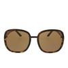 Gucci® Square Sunglasses: GG0893S color Dark Havana 002 - product thumbnail 1/3.