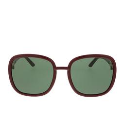 Gucci® Square Sunglasses: GG0893S color Burgundy 003.