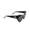 Gucci® Cat-eye Sunglasses: GG0895S color Black 001 - product thumbnail 2/3.
