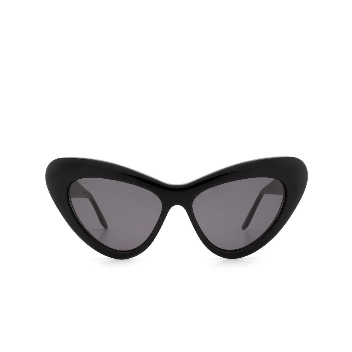 Gucci® Cat-eye Sunglasses: GG0895S color Black 001 - 1/3.