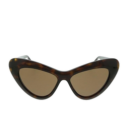 Gucci® Cat-eye Sunglasses: GG0895S color Dark Havana 002.