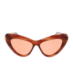 Gucci® Cat-eye Sunglasses: GG0895S color Havana 004.