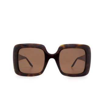 Gucci® Square Sunglasses: GG0896S color Havana 002.