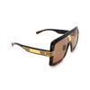 Gucci® Square Sunglasses: GG0900S color Havana 002 - product thumbnail 2/3.