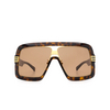 Gucci® Square Sunglasses: GG0900S color Havana 002 - product thumbnail 1/3.