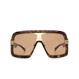 Gucci® Square Sunglasses: GG0900S color Havana 002.