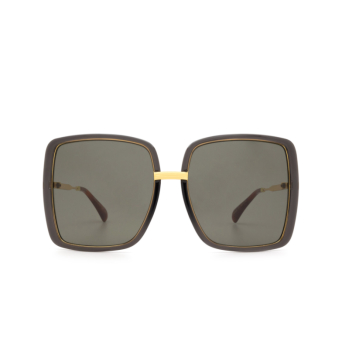 Gucci® Square Sunglasses: GG0903S color Grey 001.