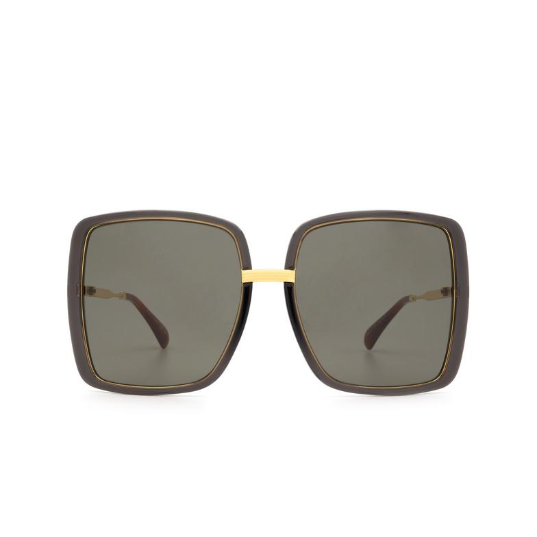 Gucci® Square Sunglasses: GG0903S color Grey 001.