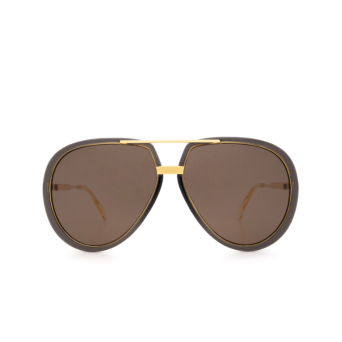 Gucci® Aviator Sunglasses: GG0904S color Grey 001.