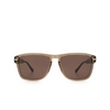 Gucci® Square Sunglasses: GG0911S color Brown 002 - product thumbnail 1/3.