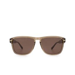 Gucci® Square Sunglasses: GG0911S color Brown 002.