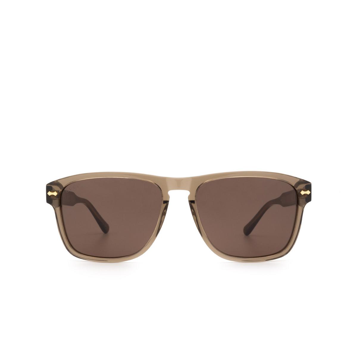 Gucci® Square Sunglasses: GG0911S color Brown 002 - 1/3.