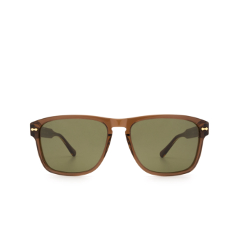 Gucci® Square Sunglasses: GG0911S color Brown 003.