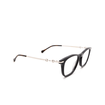 Gucci® Rectangle Eyeglasses: GG0919O color Black 001.