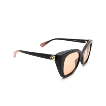 Gucci® Butterfly Sunglasses: GG0921S color Black 003.