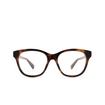 Gucci® Cat-eye Eyeglasses: GG0923O color Havana 002.
