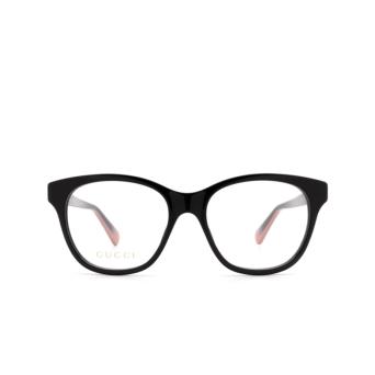 Gucci® Square Eyeglasses: GG0923O color Black 003.