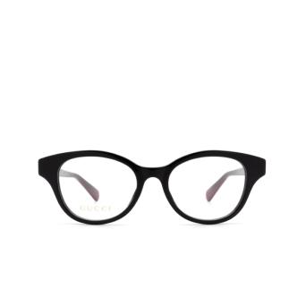 Gucci® Cat-eye Eyeglasses: GG0924O color Black 003.