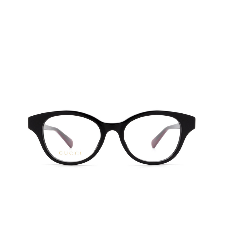 Gucci® Cat-eye Eyeglasses: GG0924O color Black 003.