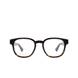 Gucci® Eyeglasses: GG0927O color Havana 002.