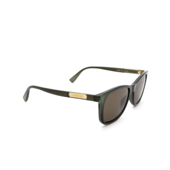 Gucci® Square Sunglasses: GG0936S color Green 003.