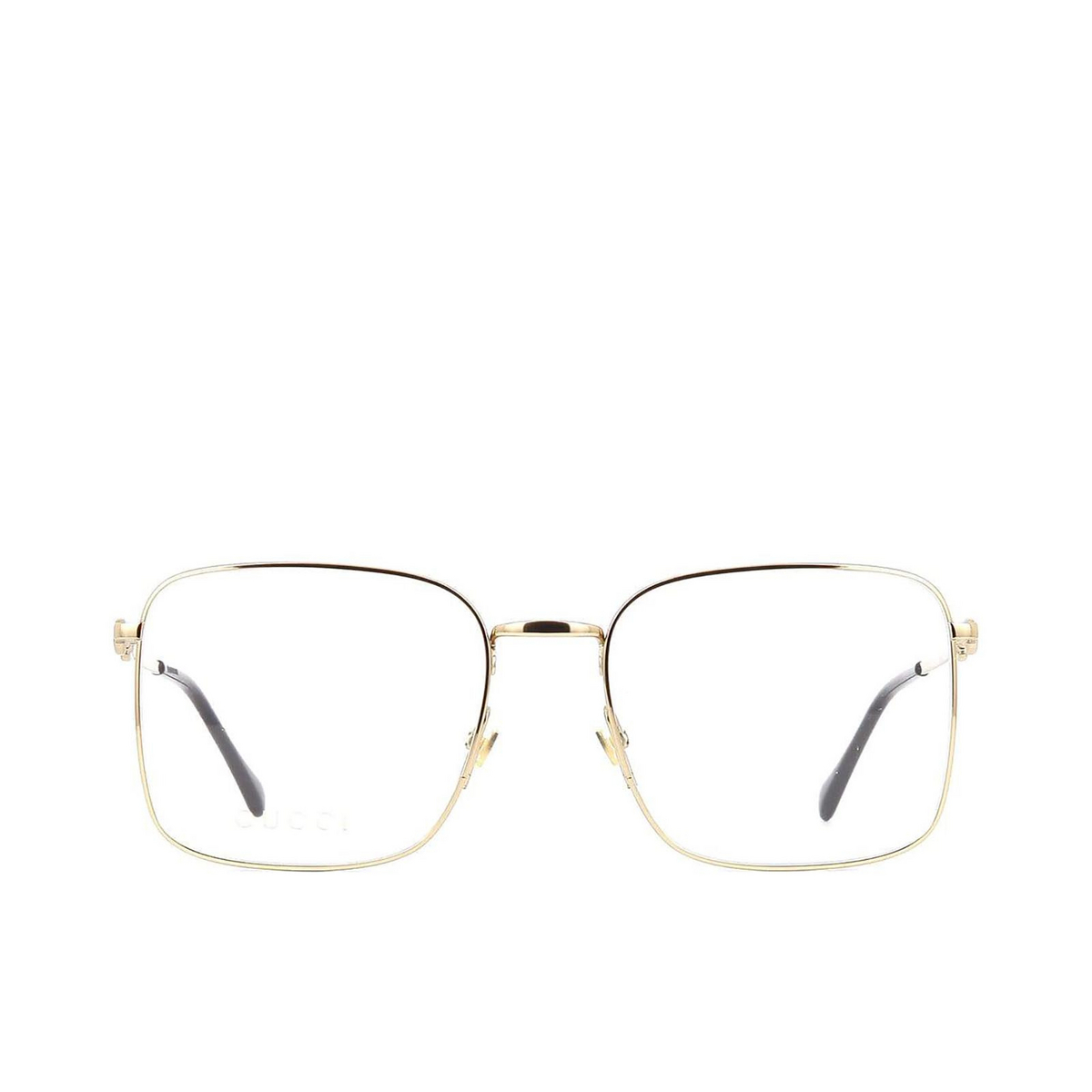 Gucci® Square Eyeglasses: GG0951O color Gold 002 - front view.