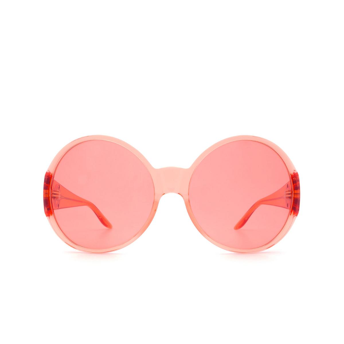 Gucci® Round Sunglasses: GG0954S color Orange 004.