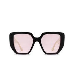 Gucci® Irregular Sunglasses: GG0956S color Black 002.