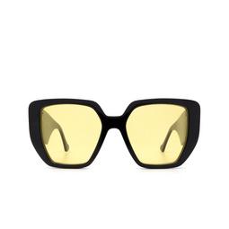 Gucci® Irregular Sunglasses: GG0956S color Black 004.
