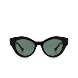 Gucci® Cat-eye Sunglasses: GG0957S color Black 001.
