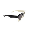 Gucci® Rectangle Sunglasses: GG0962S color White 007 - product thumbnail 2/3.