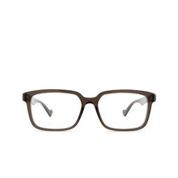 Gucci® Eyeglasses: GG0966OA color Brown 003.