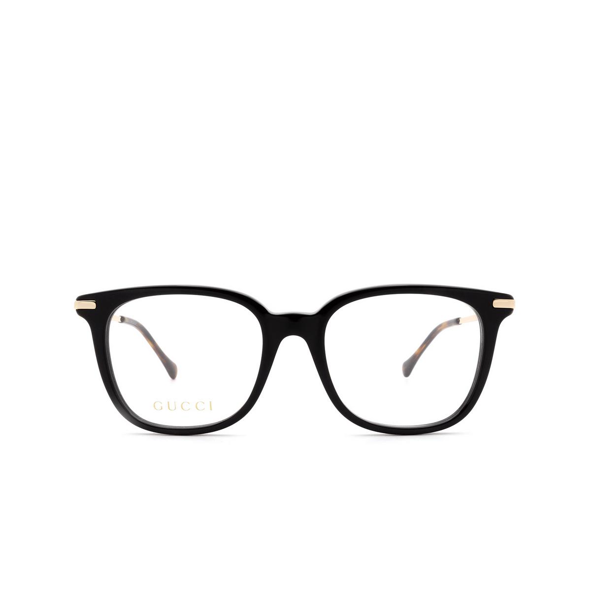 Gucci® Square Eyeglasses: GG0968O color Black 001.
